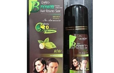 Lichen Brown Hair Color Shampoo in Mardan – 03067788111